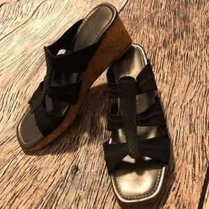 Pliner Wedge Sandals